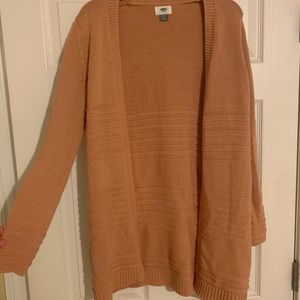 Peachy/Tan Old Navy Sweater- Size Small